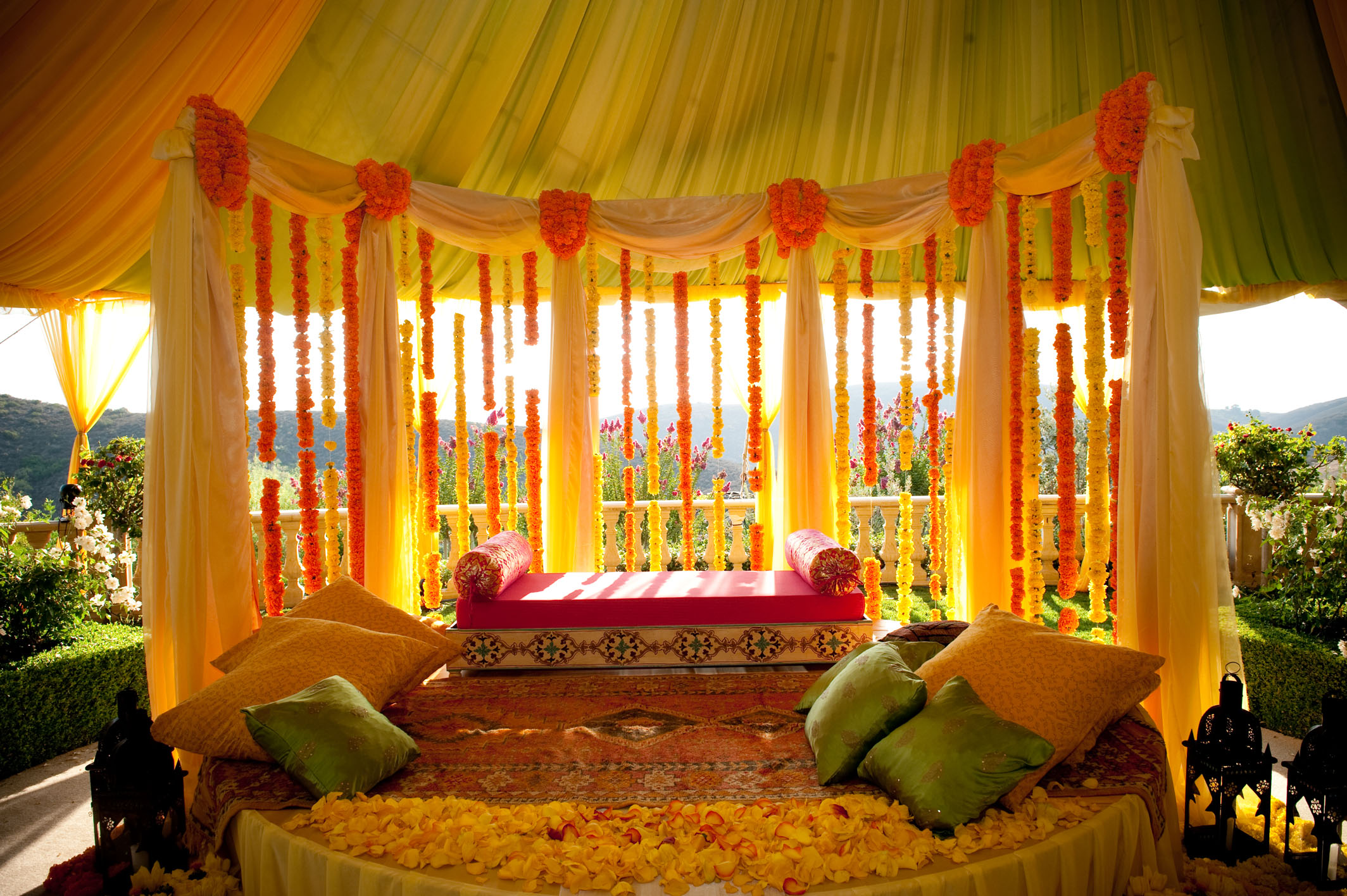 Indian wedding decorations mona bagla Home hall decoration images